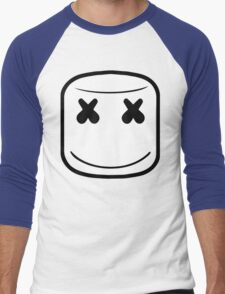 MARSHMELLO LOGO Men's Baseball ¾ T-Shirt