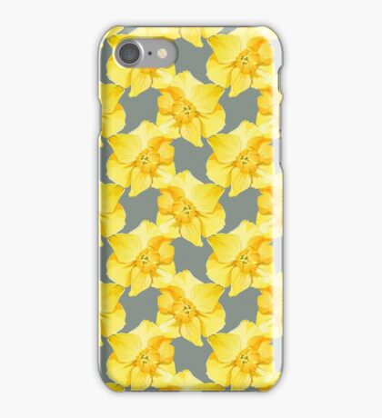 Yellow Spring Daffodil Graphic iPhone Case/Skin