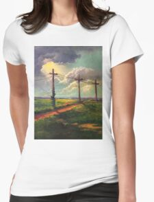 The Light of God Womens Fitted T-Shirt