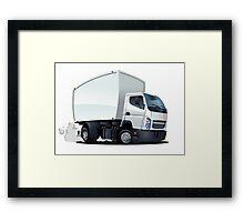 Cartoon Truck Framed Print
