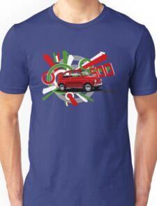 Fiat 500 T-shirt 'Explosion'  Unisex T-Shirt