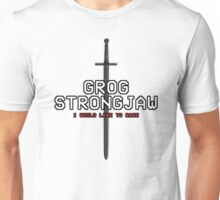 GROG STRONGJAW - Pixel Series (Critical Role) Unisex T-Shirt