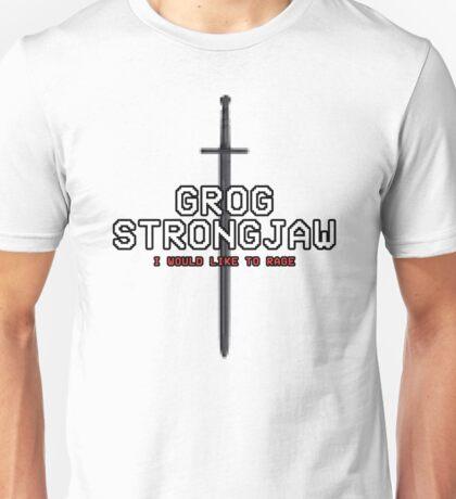 GROG STRONGJAW - Pixel Series (Critical Role) Unisex T-Shirt