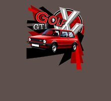 Mk1 Golf GTI T-shirt 'Explosion' Unisex T-Shirt