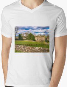 Manor House Mens V-Neck T-Shirt