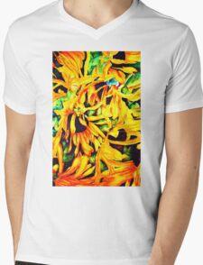 Sunflowers 4 Mens V-Neck T-Shirt