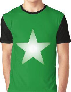 Green Star Graphic T-Shirt