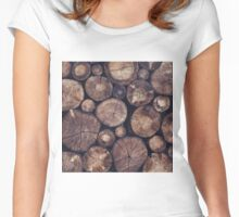 The Wood Holds Many Spirits Women's Fitted Scoop T-Shirt