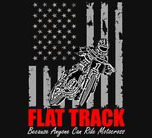USA Flag flat track Unisex T-Shirt