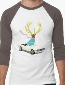 The Stag Men's Baseball ¾ T-Shirt