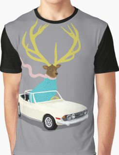 The Stag Graphic T-Shirt