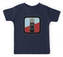 Microphone Condenser Sign Kids Tee
