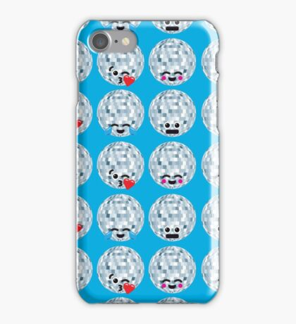 Emoji Building - Discoballs iPhone Case/Skin