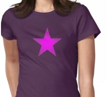 Purple Star Womens Fitted T-Shirt