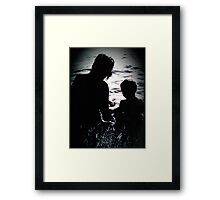 Quality Time Framed Print