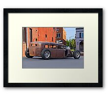 Alley Rat Rod I Framed Print