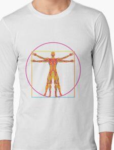 vitruvian pop Long Sleeve T-Shirt