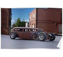Alley Rat Rod III Poster
