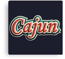 Vintage Cajun Canvas Print