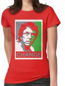 Change Womens Fitted T-Shirt