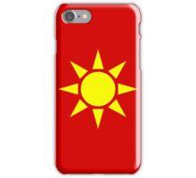 Yellow Sun iPhone Case/Skin