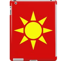 Yellow Sun iPad Case/Skin