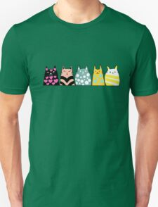 Cats Anime 6 Unisex T-Shirt