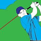 Golf 1 by Michael Birchmore