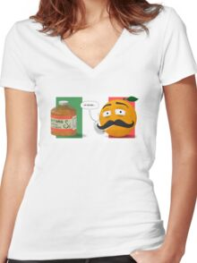 Vitamin Si Women's Fitted V-Neck T-Shirt