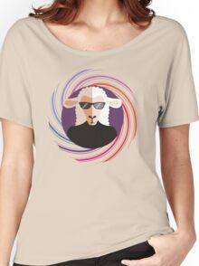 sheepnik beatknit beatnik sheet sunglasses spiral Women's Relaxed Fit T-Shirt