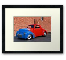 1941 Willys Coupe III Framed Print