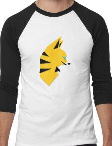 Cats Anime 4 Men's Baseball ¾ T-Shirt