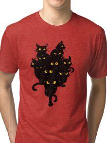 Cats Anime 2 Tri-blend T-Shirt