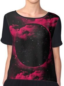 Black Hole Chiffon Top