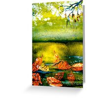 Earth Songs...Tapestry Greeting Card