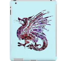 Psychedelic Dragon Sticker iPad Case/Skin