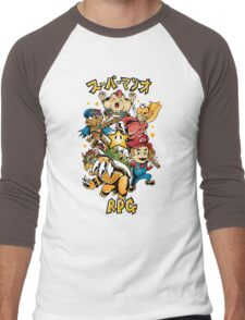 Super Mario RPG Men's Baseball ¾ T-Shirt