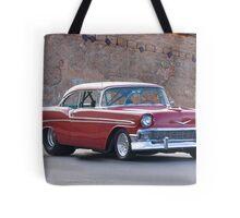 1956 Chevrolet Bel Air Hardtop Tote Bag