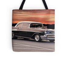 1957 Chevrolet Bel Air Hardtop Tote Bag