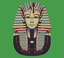Tutankhamun 'King Tut' Hope Poster Style (Tut Tut) One Piece - Short Sleeve