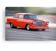 1955 Chevrolet 'Pro Street' Coupe Metal Print