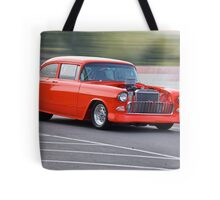 1955 Chevrolet 'Pro Street' Coupe Tote Bag
