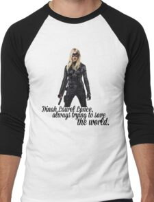 Dinah Laurel Lance Men's Baseball ¾ T-Shirt