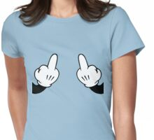 m.finger Womens Fitted T-Shirt