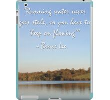 Bruce Lee Inspirational Quote iPad Case/Skin