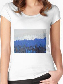 COBALT FOREST Women's Fitted Scoop T-Shirt