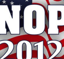 knope 2012 sticker Sticker