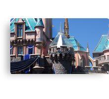 Diamond celebration castle overlay Metal Print