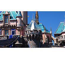 Diamond celebration castle overlay Photographic Print