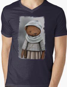mommy bear /Agat/ Mens V-Neck T-Shirt
